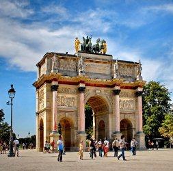 Триумфальная арка Каррузель в Париже