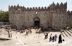 Дамасские ворота величественное сооружение